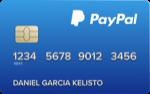 Producto Tarjeta prepago Paypal de Paypal