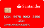 Producto Tarjeta 123 Mini Prepago de Banco Santander