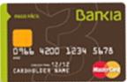 Producto Tarjeta Flexible de Bankia