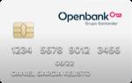 Producto Tarjeta Visa Classic Openbank de Openbank