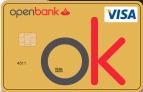 Producto Tarjeta Visa Oro de Openbank