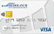 Producto Tarjeta Visa Classic de Banco Mediolanum