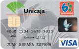 Producto Tarjeta Visa Classic de Unicaja