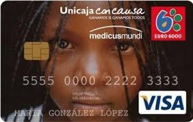 Producto Tarjeta Visa Con Causa de Unicaja