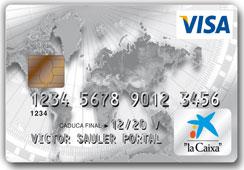 Producto Tarjeta Visa Classic de CaixaBank