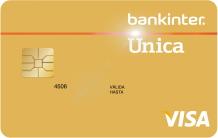 Producto Tarjeta Única Oro de Bankinter