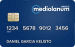 Producto Tarjeta Visa Electron de Banco Mediolanum