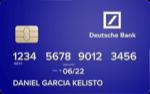 Producto Tarjeta Visa Electrón de Deutsche Bank