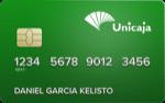 Producto Tarjeta Mastercard Débito de Unicaja