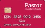 Producto Tarjeta Débito Oro Contactless de Banco Pastor