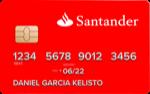 Producto Tarjeta de Débito Oro 123 de Banco Santander