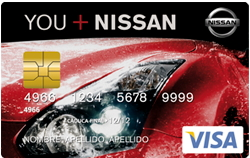 Producto Tarjeta Nissan+ de Bankintercard