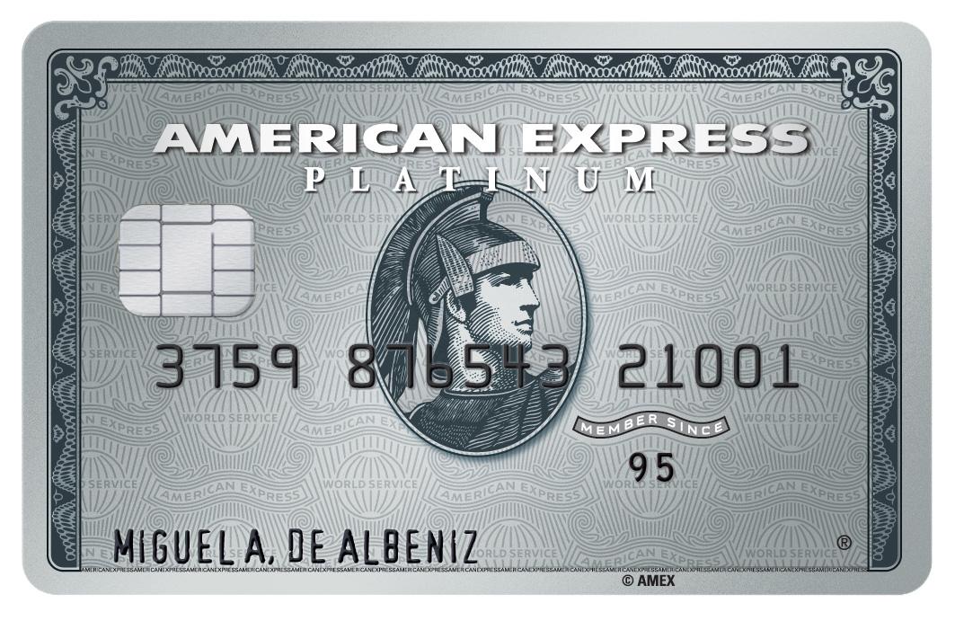 Producto Tarjeta Platinum American Express de American Express