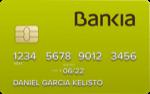 Producto Tarjeta Programa ONG de Bankia